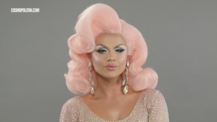 粉色女郎大化妆,真是太惊艳了吧