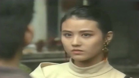 《义不容情》周海媚黄日华主演这部剧, 年轻的她非常漂亮