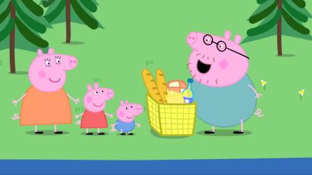 小猪佩奇中文版-第3季 第6集-露营度假