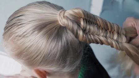 时尚潮流美发分享,教你扎好看的马尾辫子发型,优雅  温婉  时尚  喜欢学扎起来吧
