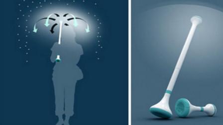 黑科技都是外国的?中国黑科技雨伞,用空气就能挡雨!
