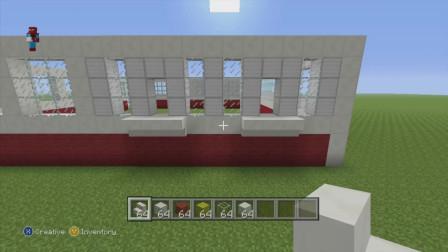 【我的世界】建造一个麦当劳店铺,建造四面围墙