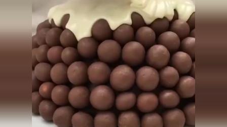 巧克力夹心蛋糕,好看又好吃