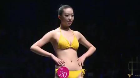 大学生模特比基尼泳装秀秀,你更喜欢哪个呢?看完心动了