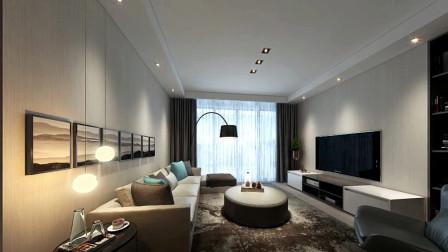 110平米新房,现代简约风格装修花9万,既省钱又好看!