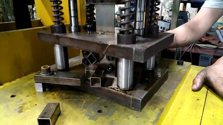 不锈钢管切断机模具下料是怎么冲断的呢?密码就在这里啊