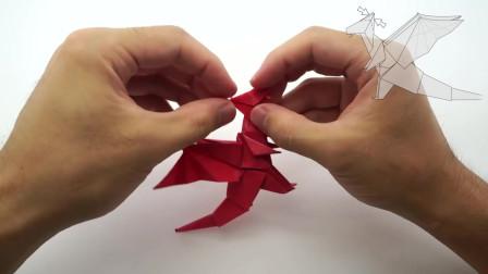 Origami Dragon (Jo Nakashima)教你折纸飞龙