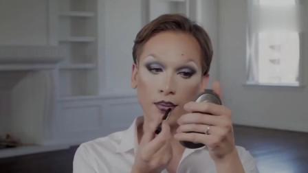 你想知道化妆的魔力吗?国外高颜值小哥哥给自己化了女人妆容,美得令人怦然心动呢