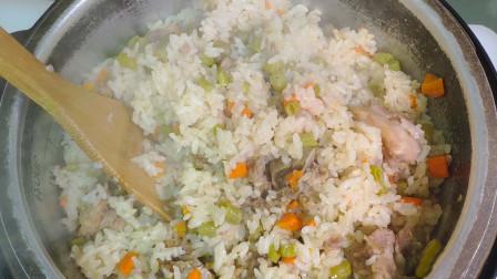 排骨焖饭超简单做法,只用一个电饭煲就搞定,营养美味懒人必备!