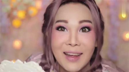 泰国小伙变性成为女人,上完妆那刻,简直比女人还美