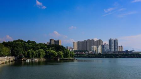 地图里看城市化,江西省九江市城市化进程