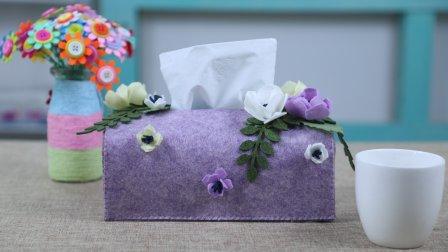 一块不织布,巧手改成它,摆在桌上精致还漂亮