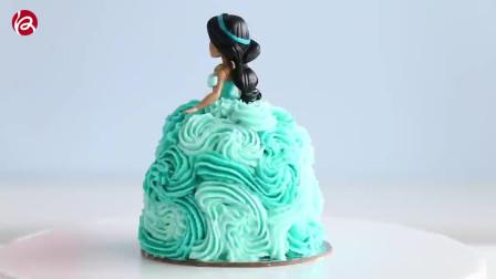 迪士尼主题迷你蛋糕,你喜欢的公主蛋糕都在这里