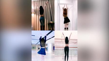 四位美女同台热舞,都说1号好看,短裙更迷人