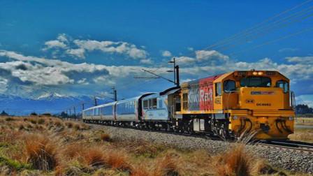 世界上最长的火车,如同巨蟒,盘旋在大地上