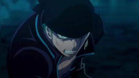 海贼王:路飞索隆山治终极大招对决,还是索隆的最帅!