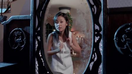 女孩缠着男友高价买回一面镜子,最后镜子却识破了她的诡计