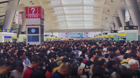 塑料布挂到京沪高铁接触网致北京南站部分列车晚点