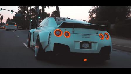 宽体改装日产GTR!经典改装方案让车更加特别!