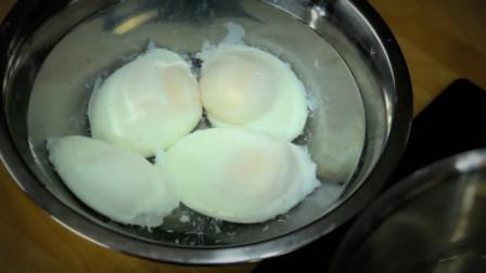 吃了30年才知道,煮荷包蛋的秘诀,个个圆嫩完整,不散花