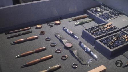 笔芯竟然是金属做的 超简单红木手工笔 亲手做的才最独特