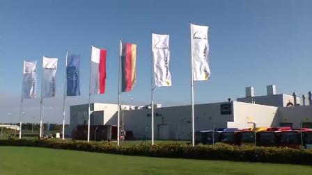 世界一流的汽车制造中心,探访德国巴士生产过程,涨知识了