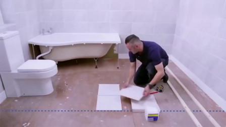 看完德国工人装修卫生间,一个细节让我心服口服,太专业了