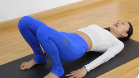 躺着就能瘦的瑜伽体式!每天坚持五到十组,练出平坦小腹秒变女神