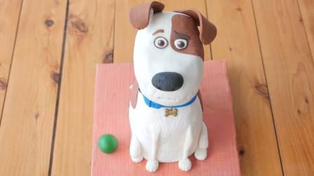 这么可爱的小狗原来是翻糖蛋糕?你知道它是什么狗吗?