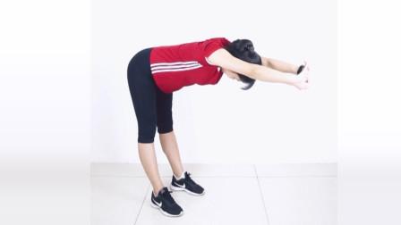 6个简单动作,改善圆肩驼背,消除富贵包,办公室减肥必备