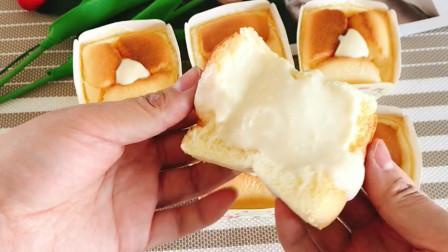 北海道戚风蛋糕,味道很不错哦!