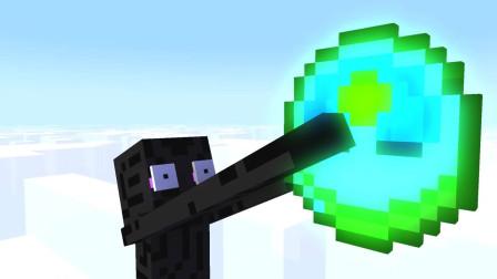 我的世界动画-怪物学院-Herobrine上天堂-MineCZ