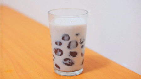 珍珠奶茶不用买,简单3步,在家也能做,放心无添加