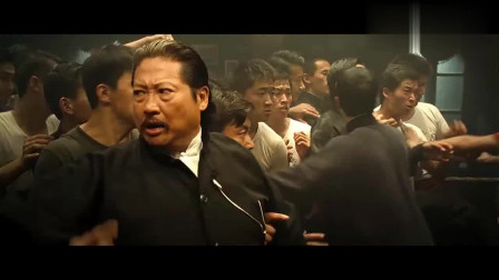 叶问:拳王伤害中国人,洪师傅看不下去,要拳王道歉