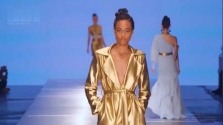 Carolina Estefan纽约春夏时装秀,好酷的模特,帅极了!