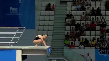 跟裁判对着干是什么结果?乌克兰跳水运动员不按规定动作跳,裁判怒给0分