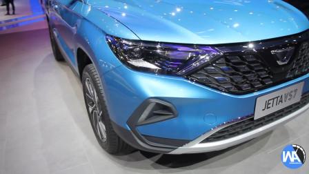 2019上海车展现场静态展示:捷达VA3VS7VS5
