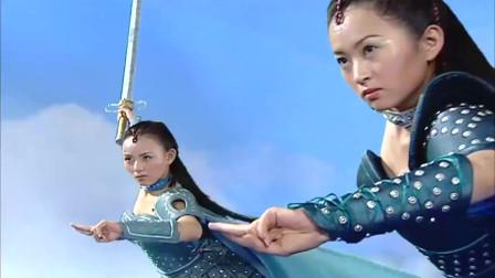 欢天喜地七仙女:阴蚀王急火攻心放大招,没有伤到一位公主!