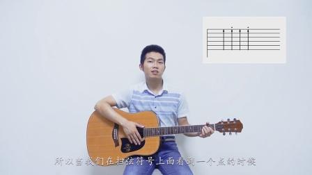 【琴侣课堂】吉他中级课程第18课 | 右手切音的符号与步骤