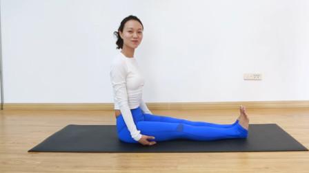 女人不可错过的瑜伽体式!增强腹部核心力量,美化腿部线条