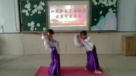 长春绿园区民丰小学扫黑除恶主题班会优秀作品展示——二年级舞蹈《离人愁》