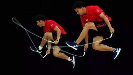花式跳绳:这一招能吹一辈子系列
