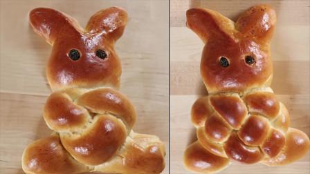 手把手教你在家制作可爱又好吃的兔子小面包,成本还不到5块钱!