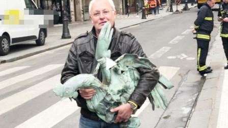 巴黎圣母院塔尖公鸡找到了,北京圆明园十二生肖鸡首仍然下落不明!