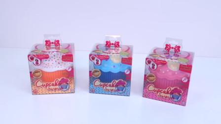 儿童趣味玩具,杯子蛋糕里的可爱小公主