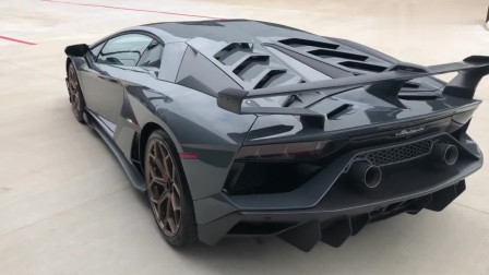 超跑强中强,兰博基尼Aventador SVJ 实拍展示欣赏