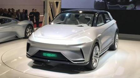 北汽新能源发布ARCFOX概念车,性能超越特斯拉,百公里加速2.59秒