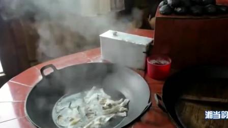 《舌尖上的中国》紫鹊界名菜,当地人非常爱吃的冻鱼