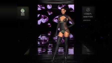 超性感的欧美模特,服装设计大胆又性感,这才是真正的性感