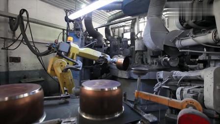 看了国外的压力锅生产过程,才知道什么叫高科技,不得不服!